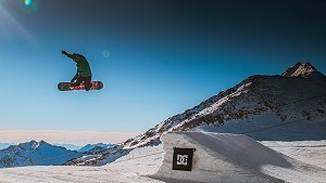 freestyle lesson snowboard val d'isere